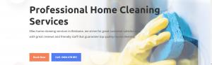 Ellas Home Cleaning Website